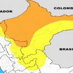 Unas 30 provincias selváticas soportarán lluvias intensas desde mañana