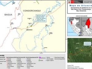 Amazonas: Trabajan rehabilitación de dos vías afectadas por filtración de agua