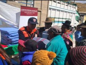 Arequipa: Ayuda humanitaria para afectados por bajas temperaturas