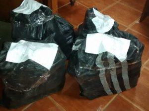 Decomisan 140 kilos de droga y detiene a cuatro sujetos en Pucallpa