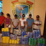 Decomisan 293 kilos de cocaína en embarcación y vivienda en Pucallpa
