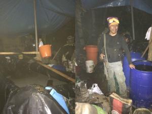 Decomisan más de dos toneladas de hoja de coca en el Vraem