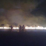 Extinguen incendio forestal en Madre de Dios