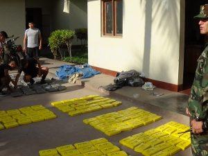 Junín: Decomisan 266 kilos de cocaína en Satipo