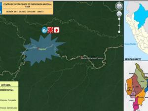 Loreto: Entregan kits de alimentos a familias damnificadas por erosión fluvial