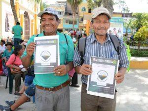 Minagri impulsa titulación de tierras en San Martín