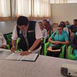 Minsa y Diresa firman compromiso para trabajar contra la tuberculosis en Loreto