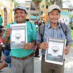 San Martín: Titularán 2 800 predios rurales y 25 poblaciones indígenas