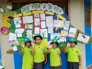 Vraem: Escolares promueven cuidado medioambiental en periódicos murales