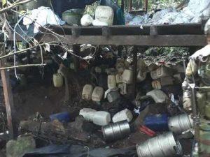 Ayacucho: Destruyen laboratorio clandestino de droga