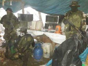Ayacucho: Destruyen un laboratorio rústico de droga