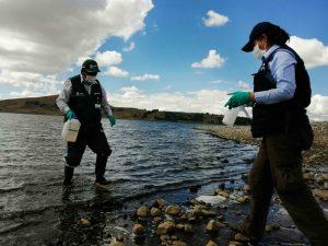 Ayacucho: Monitorean calidad del agua en la sub cuenca Cachi