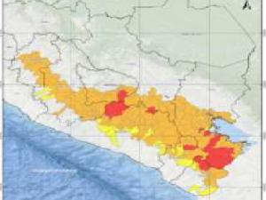 Cenepred: Seis regiones de la sierra con riesgo muy alto ante bajas temperaturas