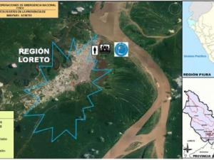 Destinaron ayuda humanitaria a afectados por vientos fuertes en Loreto
