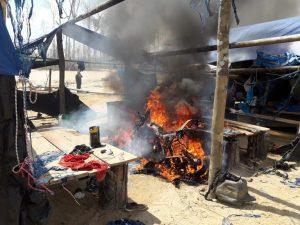 Destruyen campamentos y equipos para minería ilegal en Madre de Dios