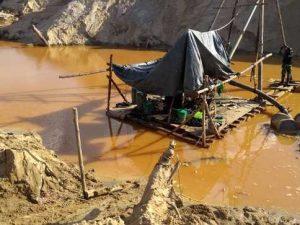 Destruyen equipos utilizados para la minería ilegal en Madre de Dios