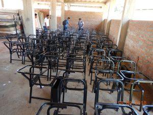 Junín: Comunidad nativa recibe estructuras metálicas para carpetas