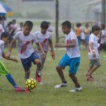 Loreto: Niños de siete comunidades nativas practican fútbol en clínica deportiva