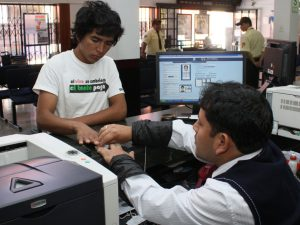 Millón y medio de peruanos podrán votar por primera vez