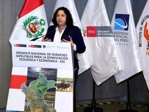 Mosaico de imágenes satelitales permitirá potenciar la zonificación ecológica y económica en las regiones