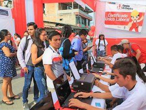 Ofertarán más de 500 puestos de trabajo en Tarapoto