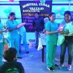Santiago de Chuco celebró Semana de lactancia materna