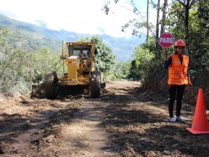 Vraem: Mejoramiento de carreteras en Chungui beneficiará a 2 mil ciudadanos