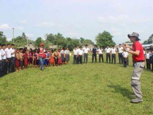 Amazonas: Campaña de prevención sobre minas antipersonales
