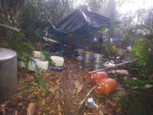 Decomisan 297 kilos de alcaloide de cocaína en el Vraem
