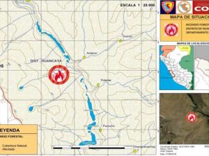 Extinguen incendios forestales en regiones Arequipa y Lima