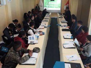 Huancayo: II Sesión Descentralizada de Comisión Multisectorial contra la trata de personas