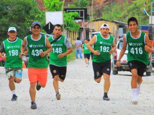 """Huánuco: Realizaron Maratón """"Corre contra las Drogas"""" en el Valle del Monzón"""