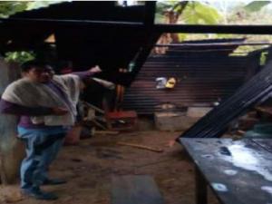 Junín: Coordinan ayuda humanitaria para afectados por vientos fuertes en Satipo