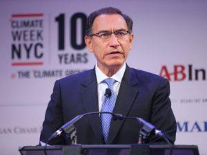 Presidente Martín Vizcarra destacó política de defensa del medio ambiente