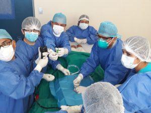 Procedimiento de Gastrostomía Percutánea Endoscópica se utiliza en Hospital II-2 Tarapoto