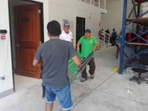 San Martín: Entregan ayuda a los damnificados por vientos fuertes