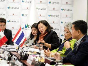 Tarapoto: Tailandeses impulsarán rehabilitación de consumidores de drogas