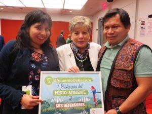 Acuerdo de Escazú debe proteger a pueblos indígenas y defensores del ambiente
