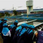 Ayacucho: Líderes estudiantiles conocieron proceso de potabilización del agua