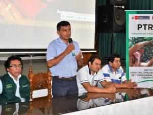 Capacitan sobre uso de Red Geodésica para levantamiento catastral en San Martín
