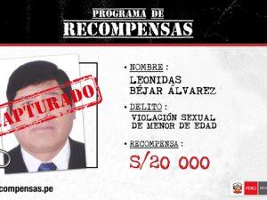 Detienen a cinco requisitoriados en Junín, Puno y Lima