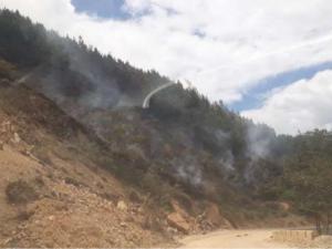 Extinguen incendios forestales en regiones Cusco y Puno
