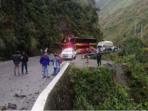 Huánuco: Rehabilitan tránsito en tramo Huánuco – Tingo María