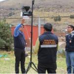 Instalan estación meteorológica portátil en Puno