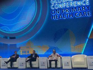 Jóvenes peruanos participan en Conferencia Mundial sobre Atención Primaria de Salud en Kasakhstan