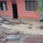Junín: Protegen viviendas tras desborde de riachuelo en Mazamari