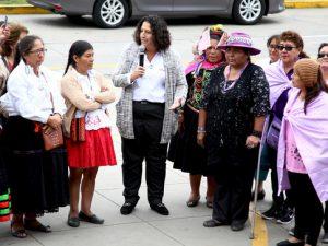 Minam destacó rol de la mujer rural en la conservación ambiental