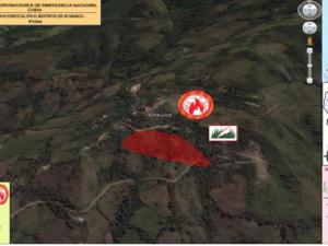 Piura: Extinguen incendio forestal en distrito de Ayabaca