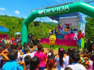 Realizan caravana para el desarrollo en San Martín