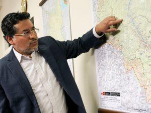 """Rubén Vargas: """"En el Vraem hay que pensar en un desarrollo integral"""""""